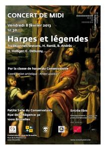 Affiche Harpes légendes