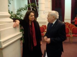 Une journée consacrée au compositeur Jean-Michel Damase, invité du Conservatoire de Bruxelles en Février 2009