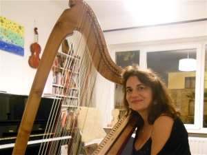 La harpe baroque, j'adore  !