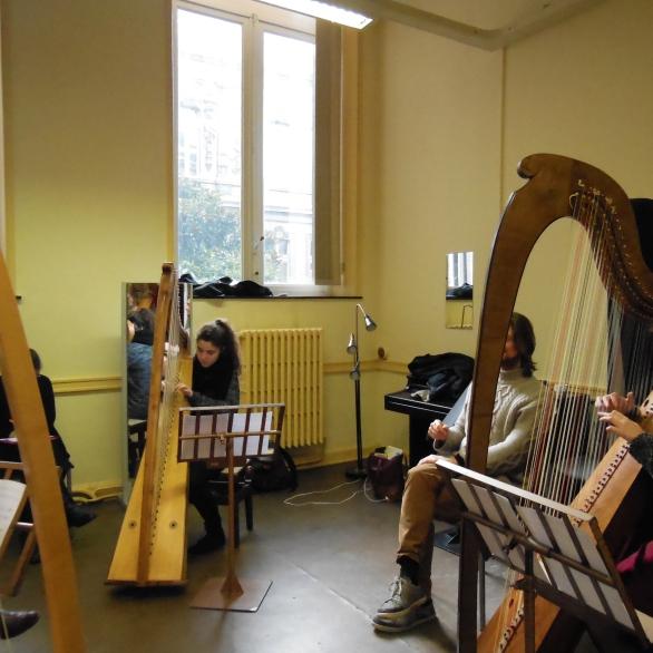 séminaire harpe baroque 2015