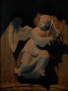 ange harpe